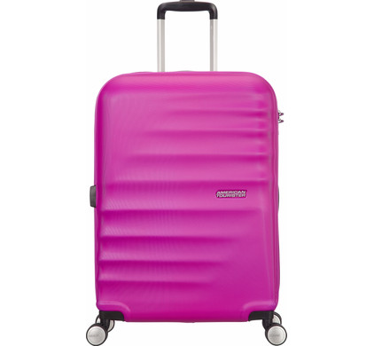 American Tourister WaveBreaker Spinner 55cm Hot Lips Pink