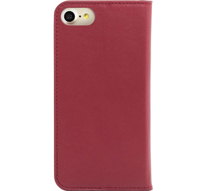 Knomo Leather Book Case Apple iPhone 7/8 Rood
