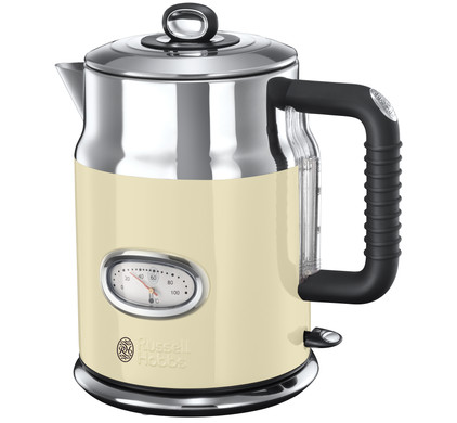 Russell Hobbs Retro Vintage Kettle Cream Main Image