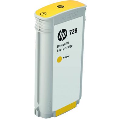 HP 728 Cartridge Geel XL (F9J65A)