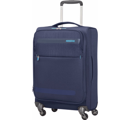 American Tourister Herolite Lifestyle Expandable Spinner 55cm Navy