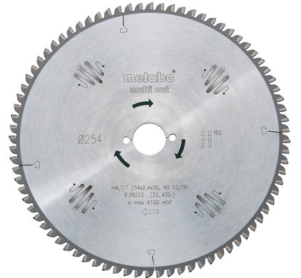 Metabo Zaagblad 216x30x1.6mm 64T
