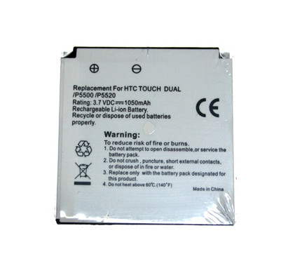 Veripart Battery HTC Touch Dual 1050 mAh + Thuislader