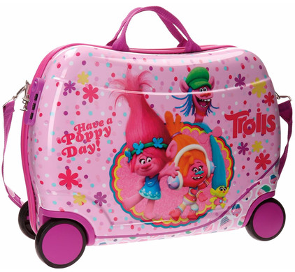 Trolls Happy Rolling Suitcase