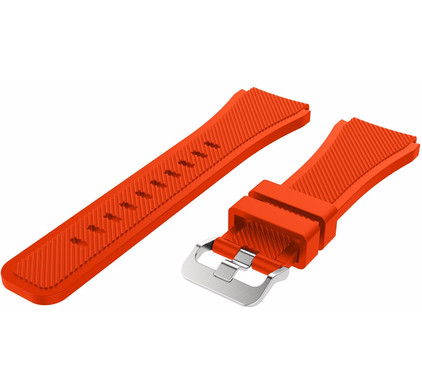 Just in Case Samsung Gear S3 Silicone Watchband Orange
