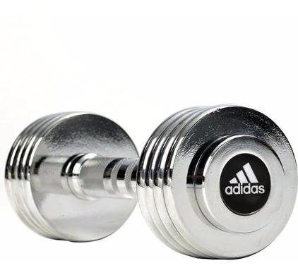 Adidas Chrome Dumbbell 1x 5,0 kg