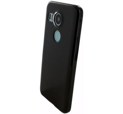 Mobiparts Essential TPU Case LG Nexus 5X Zwart