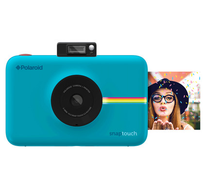 Polaroid Snap Touch Instant Digital Camera Blue