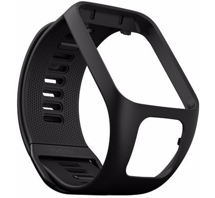 TomTom Spark 3/Runner 3 Horlogebandje Zwart - L