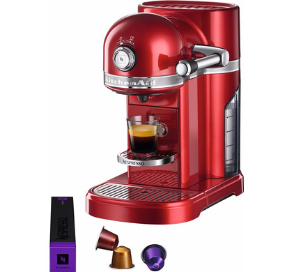 KitchenAid Nespresso 5KES0503 Apple Red Main Image