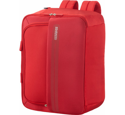 f1182f86d5 American Tourister Summer Voyager 3-Way Boarding Bag Ribbon Red - Coolblue  - Before 23 59