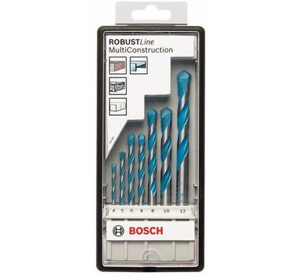 Bosch 7-delige Universele Robust Line Borenset