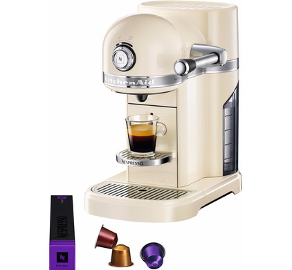 KitchenAid Nespresso 5KES0503 Almond Main Image