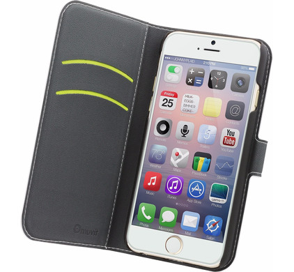 Muvit Wallet Apple iPhone 6/6s Book Case Wit