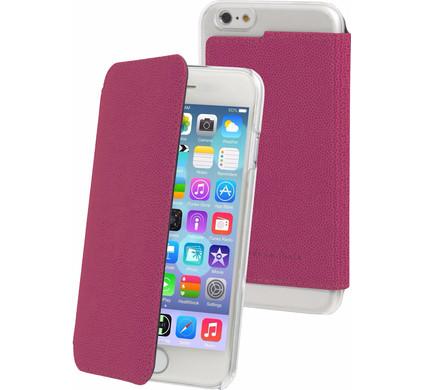 Muvit Luxe Wallet Apple iPhone 6 Plus/6s Plus Book Case Roze