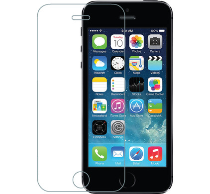 Azuri Apple iPhone 5/5S/SE Screenprotector Gehard Glas