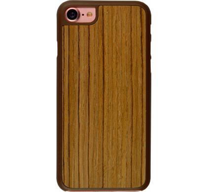 iMoshion Elia Wooden Cover Apple iPhone 7/8 Bruin