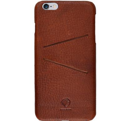 iMoshion Lamanai Double Slot Apple iPhone 6 Plus/6s Plus Back Cover Bruin