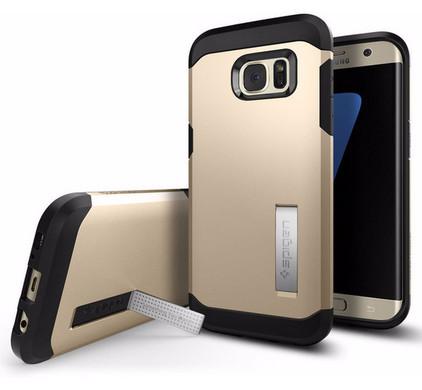 Spigen Tough Armor Samsung Galaxy S7 Edge Goud