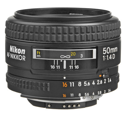 Nikon AF-D 50mm f/1.4 Main Image