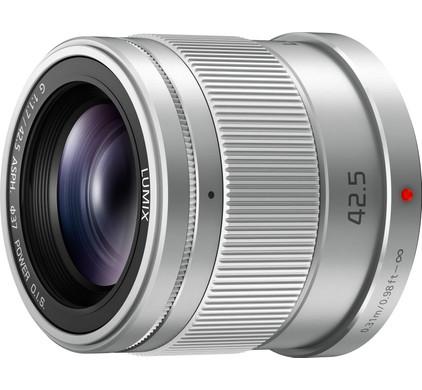 Panasonic Lumix G 42,5mm f/1.7 ASPH O.I.S. Silver Main Image