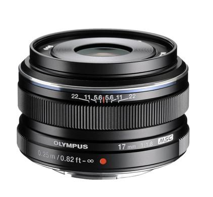 Olympus M.Zuiko Digital ED 17mm f/1.8 zwart Main Image