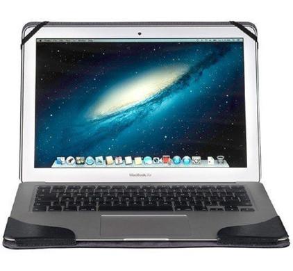 Gecko Covers Leren Hoes MacBook Air 13'' Zwart