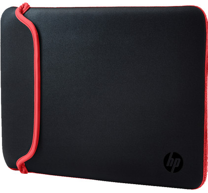 HP 13,3'' Reversible Sleeve Zwart/Rood
