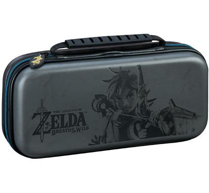 Bigben Nintendo Switch Travel Case Zelda Grijs
