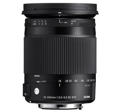 Sigma F 18-300mm f/3.5-6.3 DC Macro OS HSM C Nikon Front