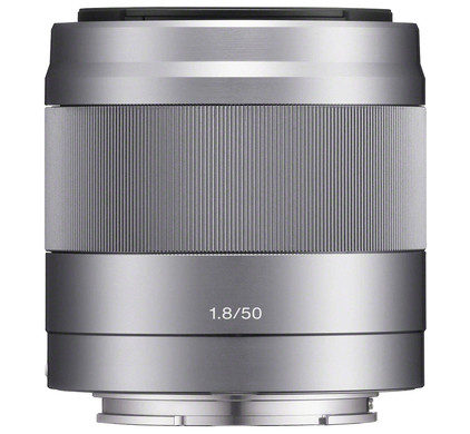 Sony E 50mm f/1.8 OSS Silver Main Image