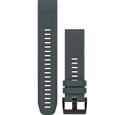 Garmin QuickFit 22mm Rubber Horlogeband Grijs