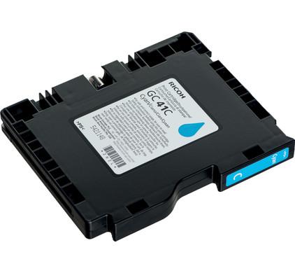 Ricoh Gel Cartridge GC41C Cyaan (405762)