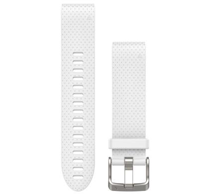 Garmin QuickFit 20mm Siliconen Polsband Wit