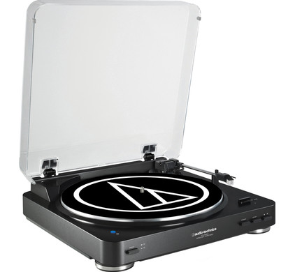 Audio-Technica AT-LP60BKBT Zwart