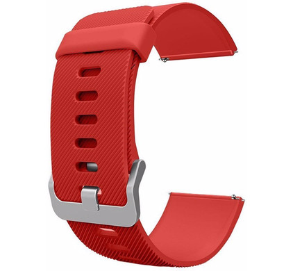 Just in Case Siliconen Polsband Fitbit Blaze Rood