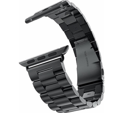 Just in Case RVS Polsband Apple Watch 42mm Grijs