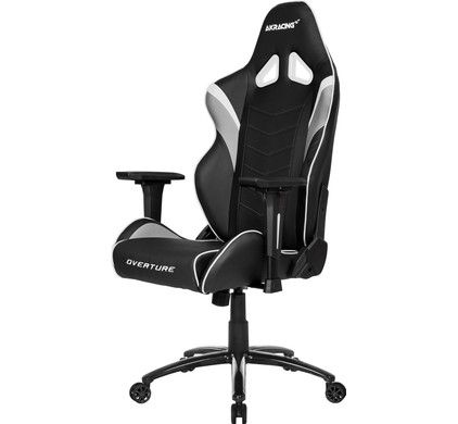 AK Racing Overture Gaming Chair Wit