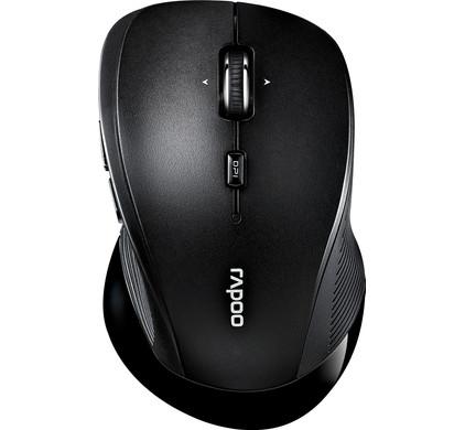 Rapoo 3910 Draadloze Muis Zwart