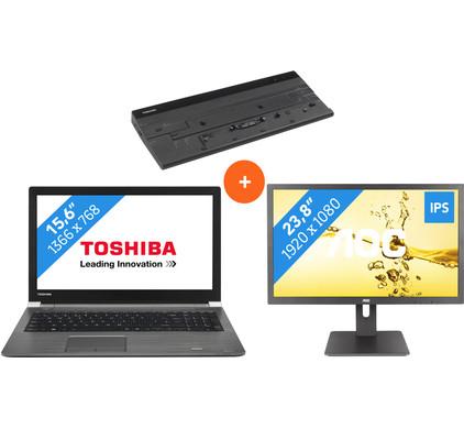 Toshiba Tecra A50-C-17C + Dock + Scherm