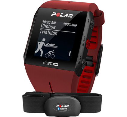 Polar V800 Red HR Main Image