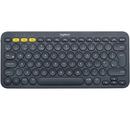 Logitech K380 Bluetooth Toetsenbord Grijs QWERTY