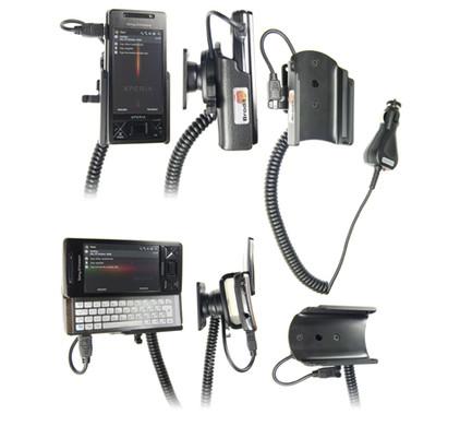 Brodit Active Holder SE Xperia X1 + Dual Car Socket