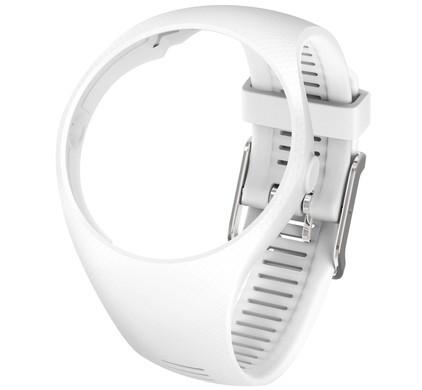 Polar M200 Kunststof Polsband M/L - Wit