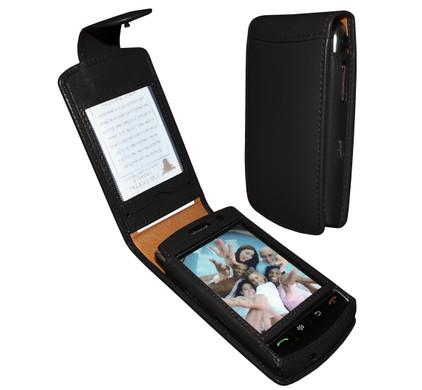 Piel Frama Leather Case BlackBerry Storm + Screenprotector