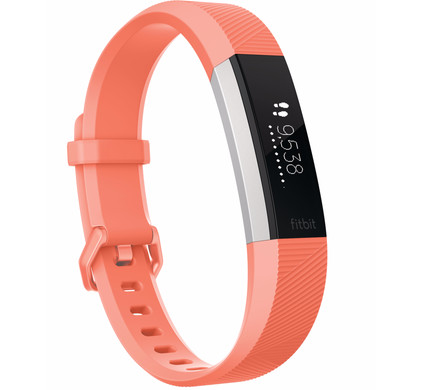 Fitbit Alta HR Oranje - S