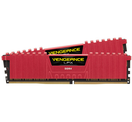Corsair Vengeance LPX 16GB DDR4 DIMM 3000 MHz/15 Rood (2x8GB)
