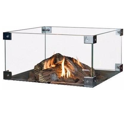 Happy Cocooning Glazen Ombouw Inbouwbrander Vierkant