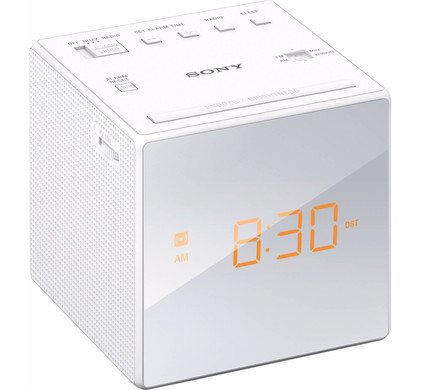 Sony ICF-C1 Wit