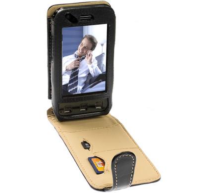 Krusell Flex Leather Case LG KC910 Renoir + Screenprotector